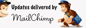 MailChimp Logo - Updates delivered by MailChimp